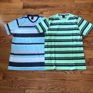 Two Boys Calvin Klein T-shirts